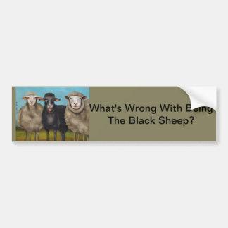 The Black Sheep Bumper Sticker