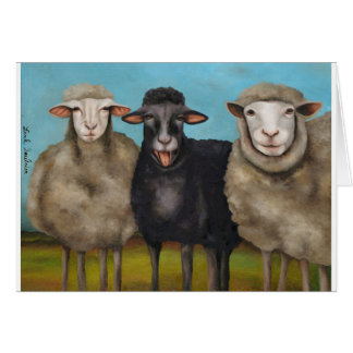 The Black Sheep Card