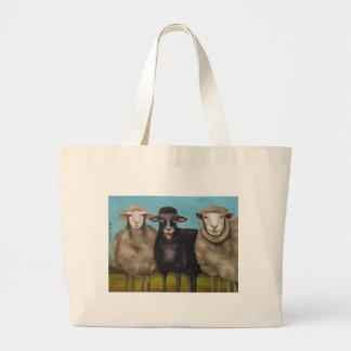The Black Sheep Large Tote Bag