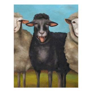 The Black Sheep Letterhead