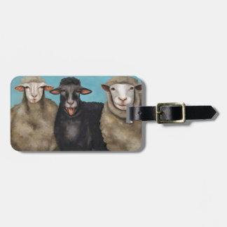 The Black Sheep Luggage Tag