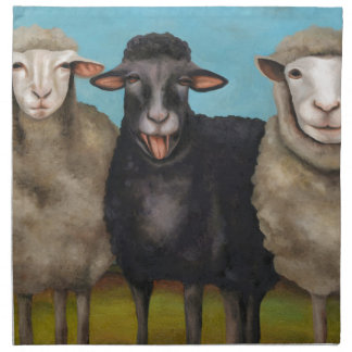 The Black Sheep Napkin