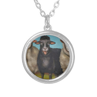 The Black Sheep Silver Plated Necklace