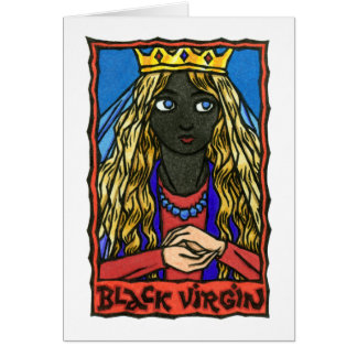 The Black Virgin Card