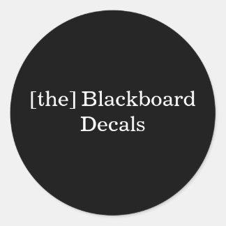 [the] Blackboard Decals Sticker