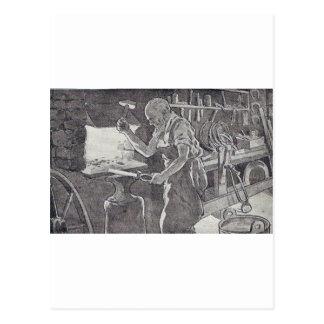 The Blacksmith Postcard