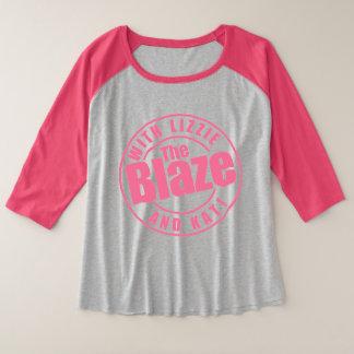 The Blaze Podcast Raglan Shirt