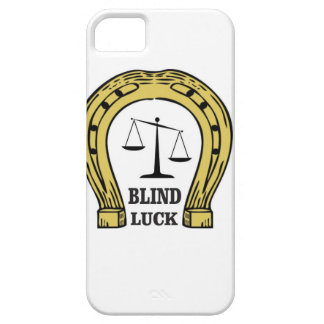 the blind luck iPhone 5 cases