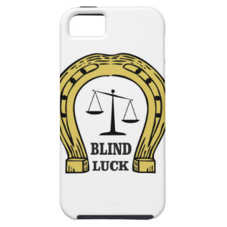 the blind luck iPhone 5 covers