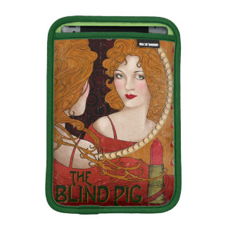 The Blind Pig Vintage Artwork iPad Mini Sleeve