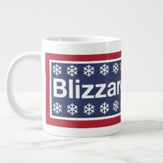 The Blizzard of 2018 Large Coffee Mug