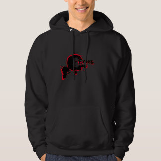 The Blood of Christ Black and Red Hoodie