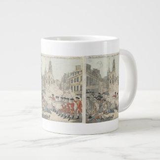 The Bloody Massacre - Paul Revere (1770) Large Coffee Mug