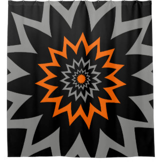 The Blooming Expanse:  Black and Orange