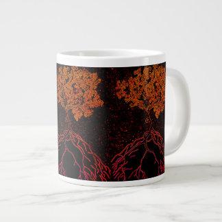 The Blossoming Night Tree Large Coffee Mug