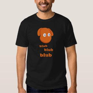 "The Blubby ""Blub Blub Blub"" Basic Dark T-Shirt"