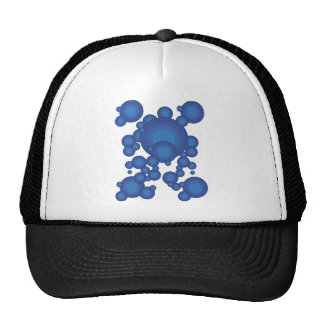 The Blue 70's year styling Trucker Hat