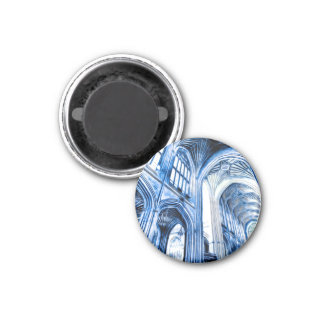 The Blue Abbey Magnet