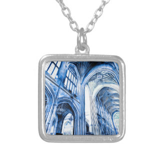 The Blue Abbey Silver Plated Necklace