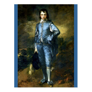 The Blue Boy by Thomas Gainsborough Postcard