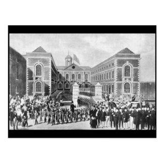 The Blue-Coat Hospital, Liverpool, 1843 Postcard
