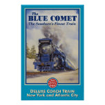 The Blue Comet Poster