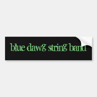 THE BLUE DAWG STRING BAND Bumper Sticker