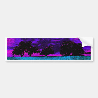 THE BLUE FIELD BUMPER STICKER