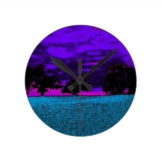 THE BLUE FIELD CLOCK