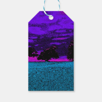 THE BLUE FIELD PACK OF GIFT TAGS