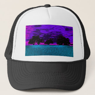 THE BLUE FIELD TRUCKER HAT