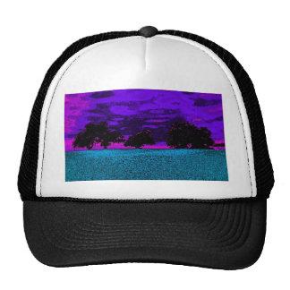 THE BLUE FIELD TRUCKER HAT