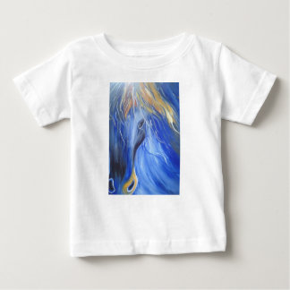 the Blue Horse Baby T-Shirt