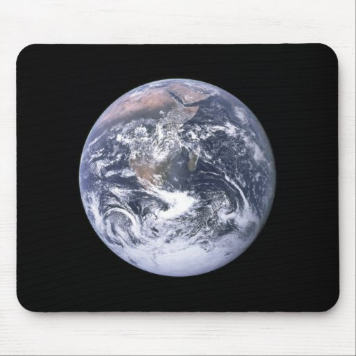 """""""The Blue Marble"""" Earth seem from Apollo 17 Mouse Pad"""