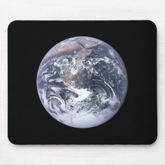 """The Blue Marble"" Earth seem from Apollo 17 Mouse Pad"