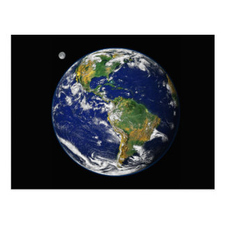 The Blue Marble Postcard