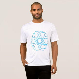 The Blue Mixed Figures T-Shirt