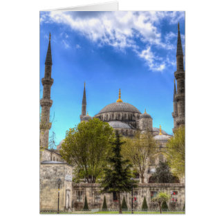 The Blue Mosque Istanbul Card