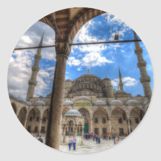 The Blue Mosque Istanbul Classic Round Sticker