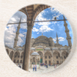 The Blue Mosque Istanbul Coaster