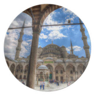 The Blue Mosque Istanbul Plate
