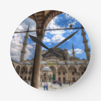 The Blue Mosque Istanbul Round Clock