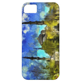 The Blue Mosque Istanbul Van Gogh Case For The iPhone 5