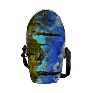The Blue Mosque Istanbul Van Gogh Courier Bag
