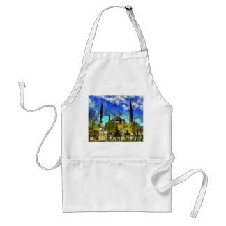 The Blue Mosque Istanbul Van Gogh Standard Apron