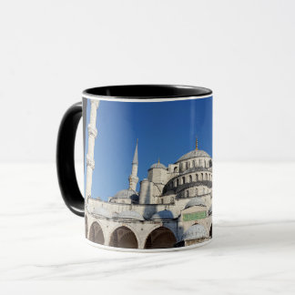The blue mosque or Sultan Ahmed Mosque Mug