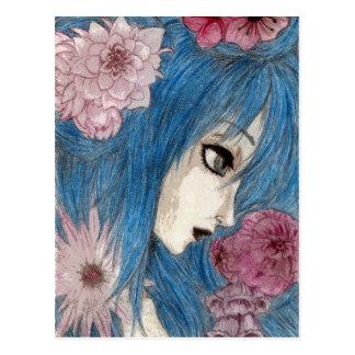 The Blue Nymph Postcard