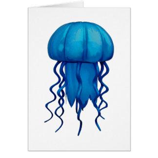THE BLUE PULSE CARD