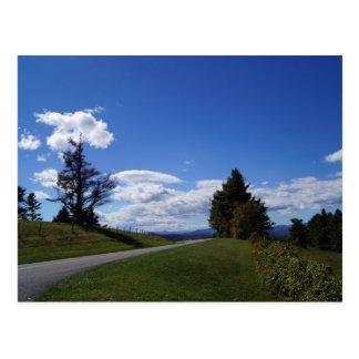 The Blue Ridge Mountains of North Carolina Postcard