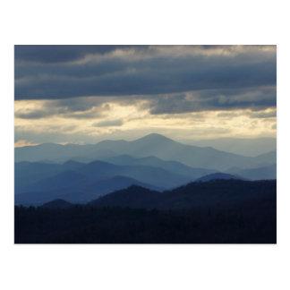 The Blue Ridge Mountains Postcard